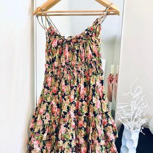 MANGO midi dress